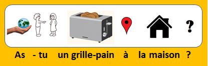 As-tu un grille-pain à la maison ?