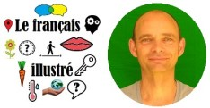 Logo + Jérôme le créateur du français illustré