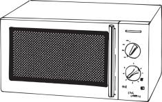 un micro-ondes