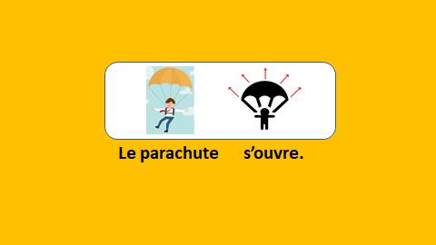 Un saut en parachute – vidéo 201