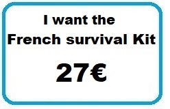 27€ - I want the French survival Kit