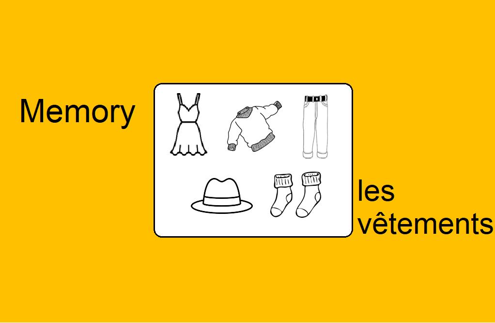 Memory – Les vêtements
