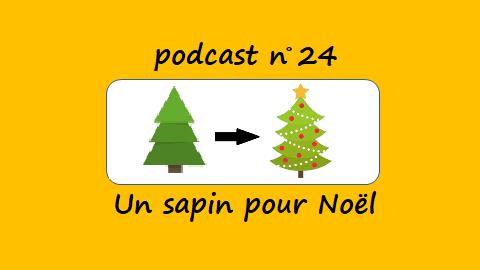 Un sapin pour Noël – podcast 24 du Français illustré