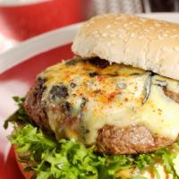 RECETTE  -  Hamburger à la fourme d'Ambert