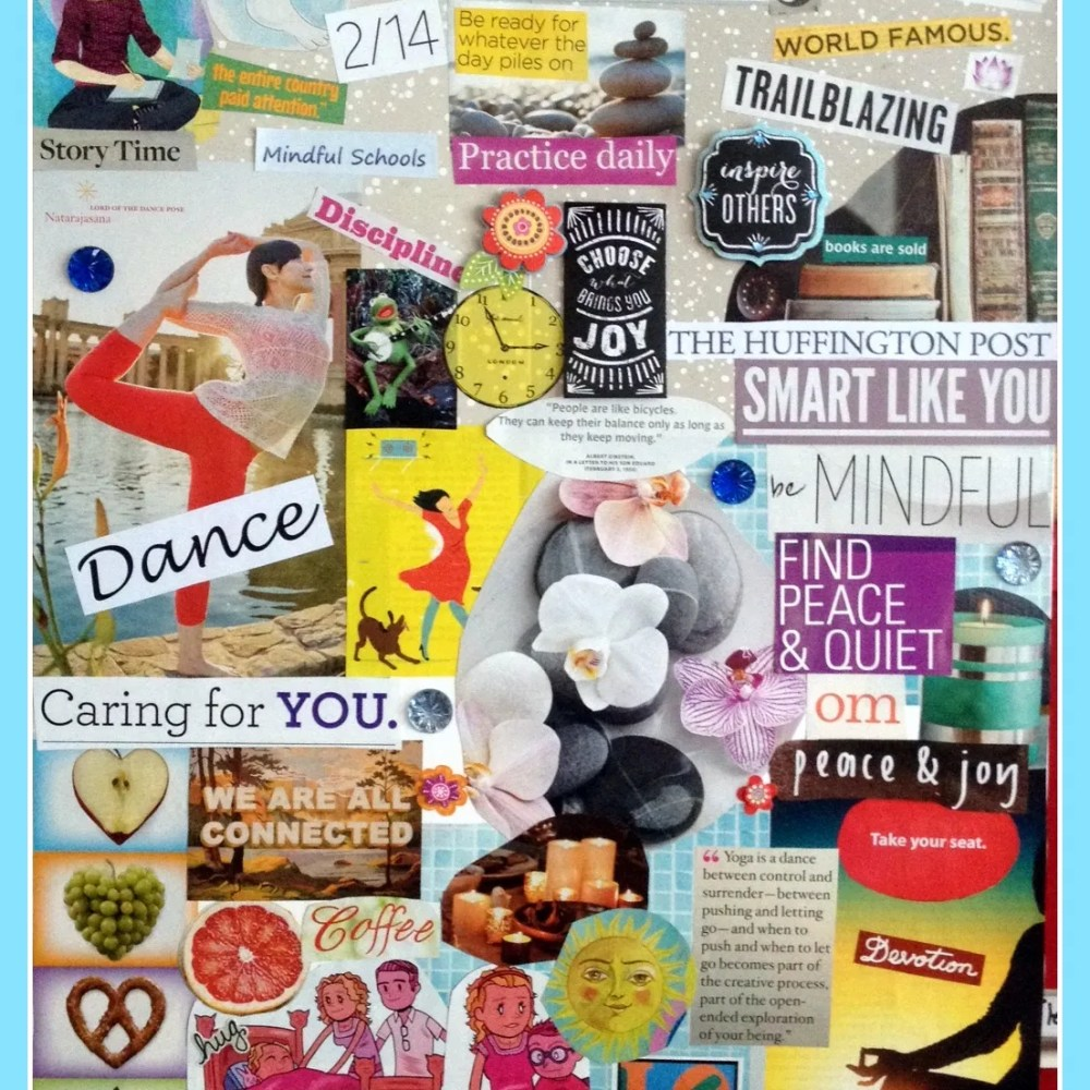 I Want to Tell You About My Vision Board!
