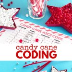 Candy Cane Coding Steam Activity For Kids Left Brain Craft Brain