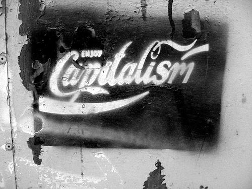 Enjoy Capitalism - photo by Isaías Campbell