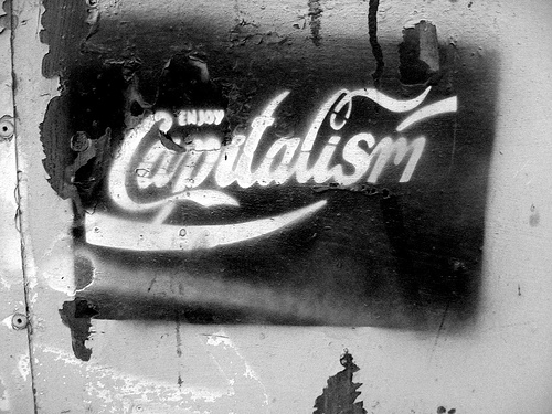 Enjoy Capitalism - photo by Isaías Campbell