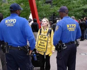Occupy Wall Street - Day 1 - Sept. 17, 2011 - photo by David Shankbone