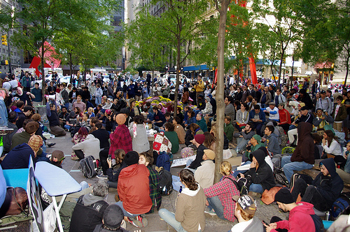 Occupy Wall Street - Day 2 - Sept. 18, 2011 - photo by David Shankbone