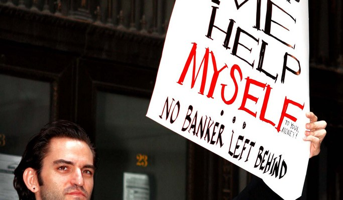 Help Me Help Myself - No Banker Left Behind - photo by A. Golden