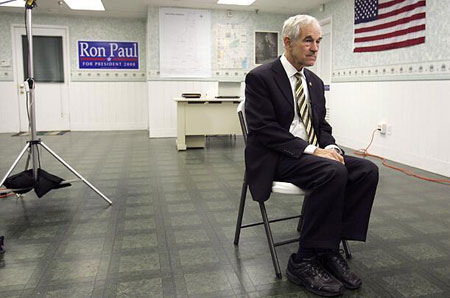 Ron Paul - photo by Flapa blog via Flickr
