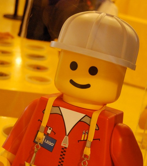 Lego Man - photo by Josh Hallett