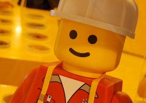 Lego Man - photo by Josh Hallett