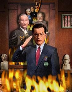 Stephen Colbert - photo by DonkeyHotey