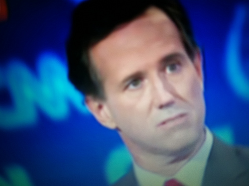 Rick Santorum - photo by Dave Maass