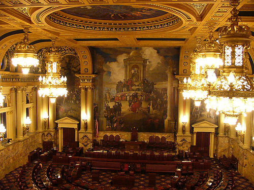 PA House Chamber - photo by David Fielding