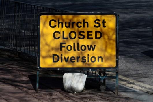 No way to church street - photo by Toru Okada