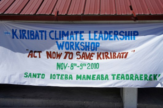 Kiribati Climate Leadership Workshop - photo by 350.org