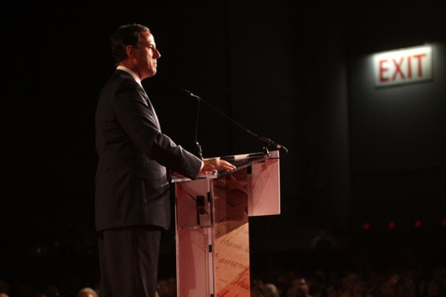 Rick Santorum - photo by Gage Skidmore