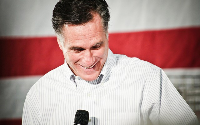 Mitt Romney - photo by Dave Lawrence