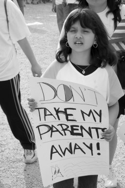 Immigration Reform Rally - Don't Take My Parents Away!
