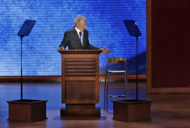 Clint Eastwood and The Chair - RNC