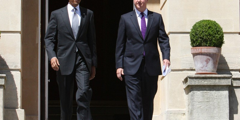 President Obama and Prime Minister Cameron - photo by The Prime Minister's Office