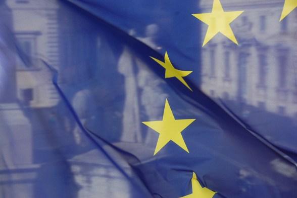 European Union flag - photo by waldopics