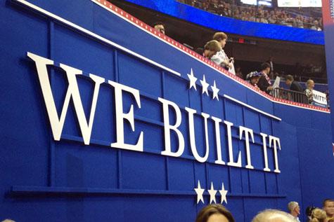 RNC 2012 - We Built It