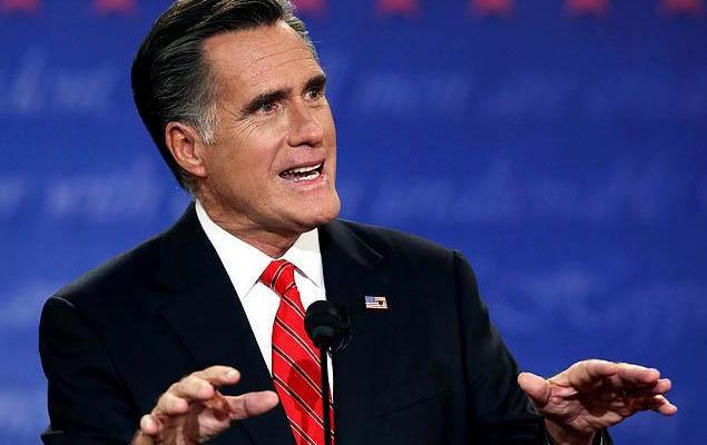 Mitt Romney - 2012 - First presidential debate - photo by Justin Sullivan