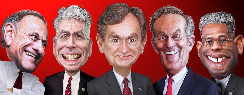Republicans - King, Walsh, Mourdock, Akin & West