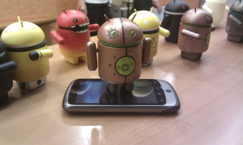Android on Nexus - photo by Georgo10