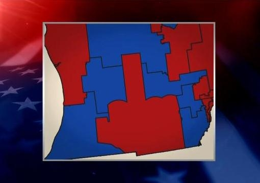 Colbert - Republican gerrymandering - the finger