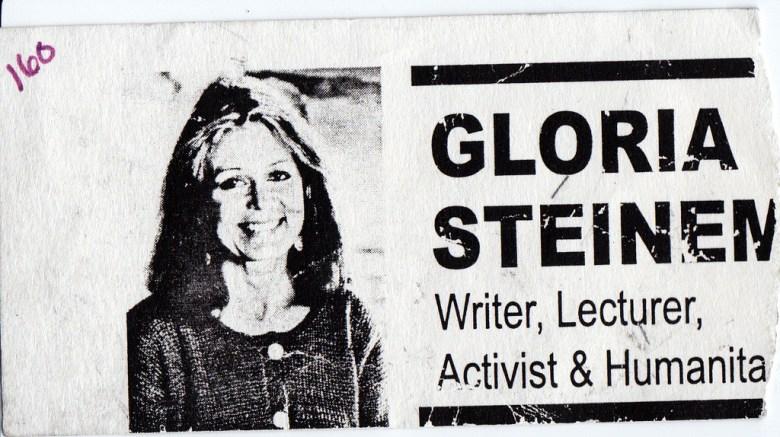 Gloria Steinem - Writer, Lecturer, Activist & Humanitarian - photo by Harper Reed