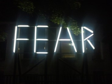 Fear - photo by dryhead
