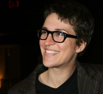 Rachel Maddow - photo by The Rachel Maddow Show, courtesy of @Triumph68