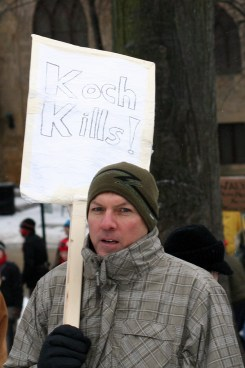Koch kills - photo by Sue Peacock