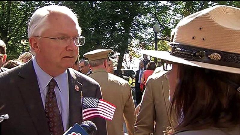 Randy neugebauer wwii park ranger government shutdown
