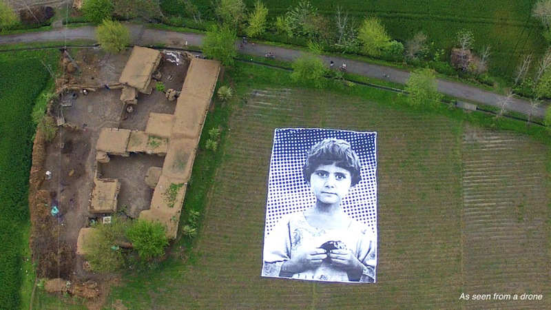 Not a bug splat art installation pakistan predator drone