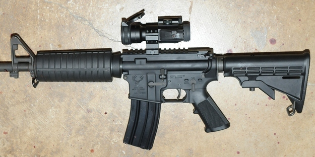 Ar 15 semi automatic assault rifle