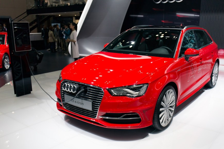 Audi A3 E-Tron. Plug-in hybrid. Already on sale in Germany.
