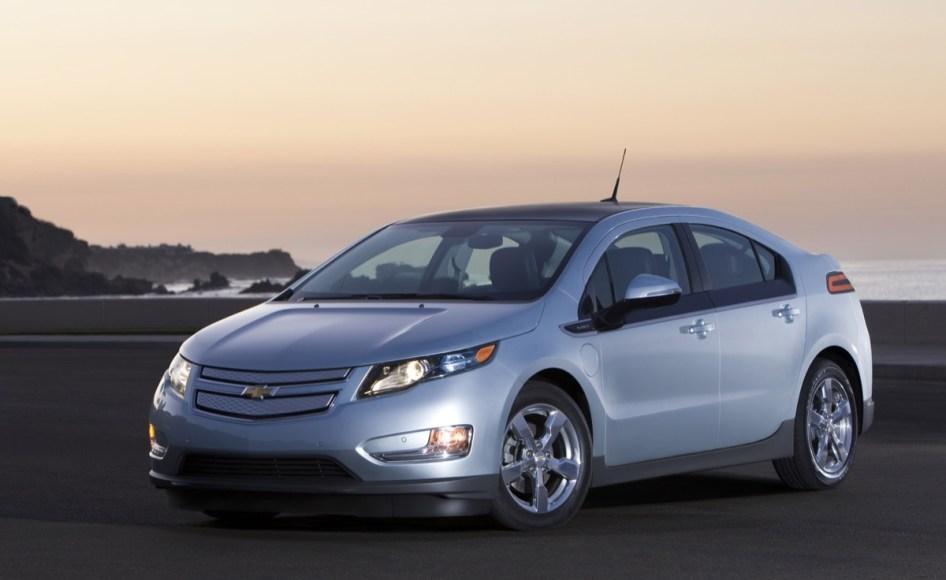Chevrolet Volt. Plug-in hybrid. 98 MPGe on battery. 37 MPG on gas. 38 mile electric range.