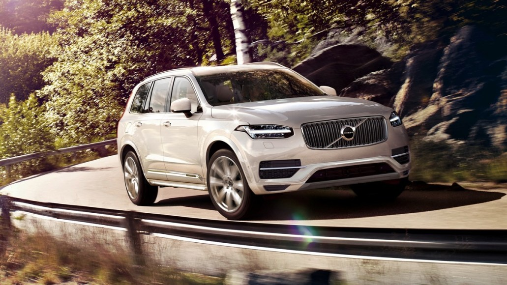Volvo XC90 T8. Plug-in hybrid. 25 mile electric range expected.