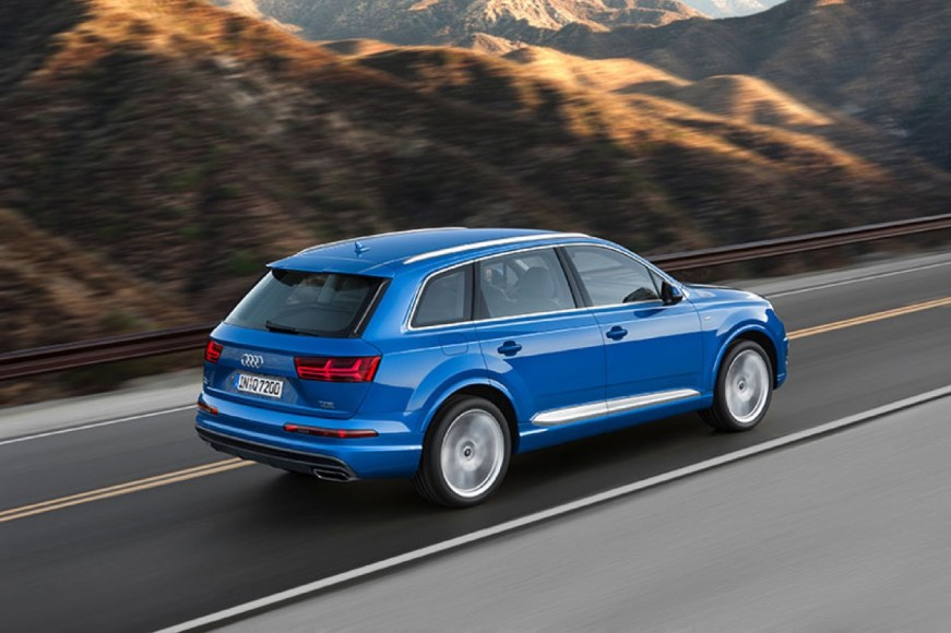 Audi Q7. Plug-in hybrid. Big whup: 0 to 60 in 6.1 seconds.