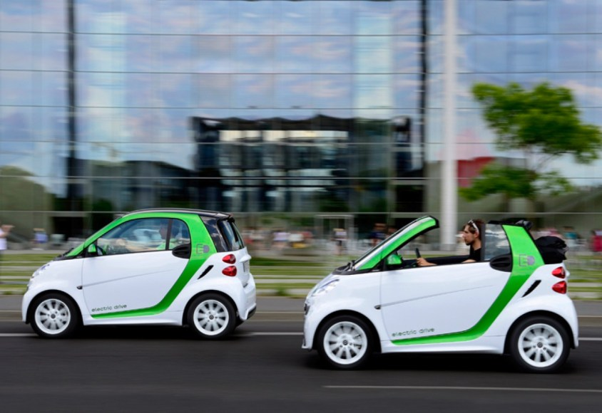 Smart Electric Drive. 100% electric. 107 MPGe. Convertible version available.