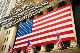 NYSE patriotic