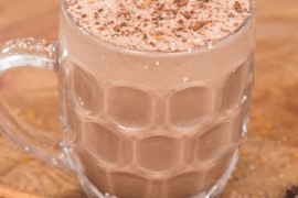 chocolate eggnog