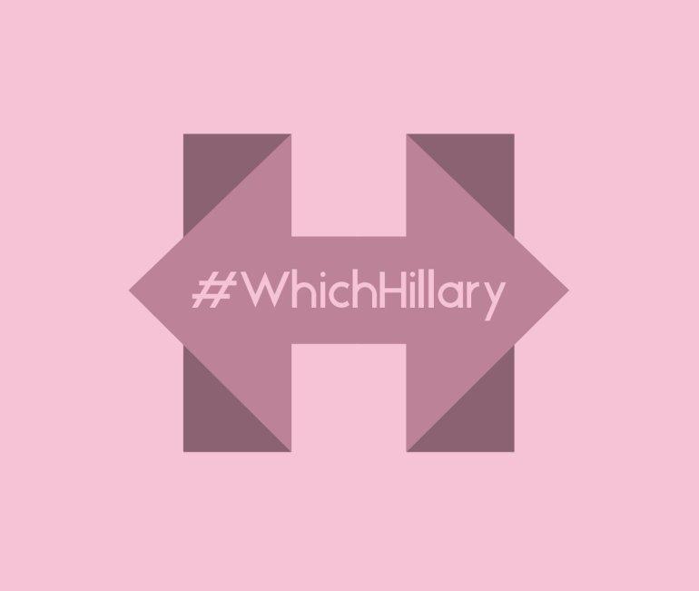 #WhichHillary