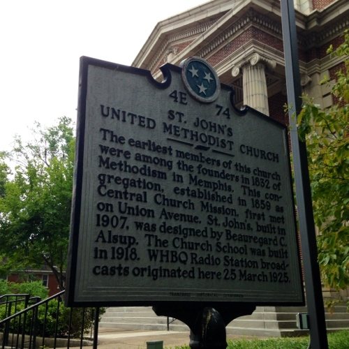 Historical marker sighting – Lefthanded Conservative